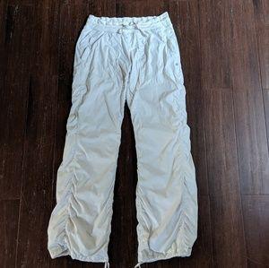 Lululemon white/dune dance studio pants 8
